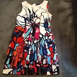 AGB multicolored dress